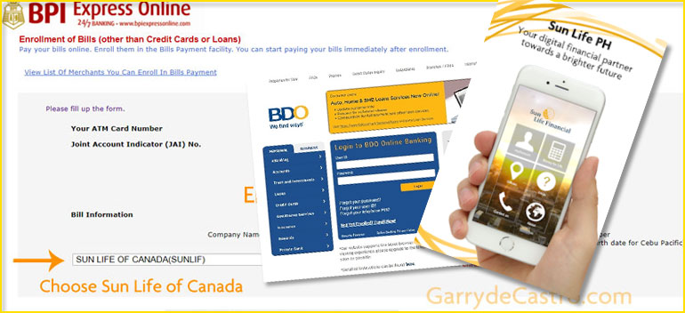 HOW TO EASILY PAY YOUR SUN LIFE INSURANCE POLICIES IN THE ...