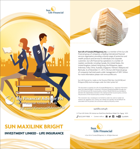 Sun Maxilink Bright Brochure - front and back