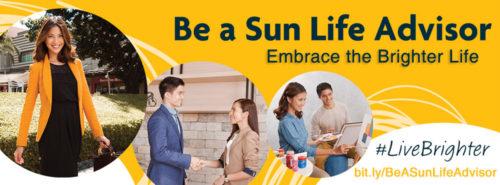 how to be a sun life financial advisor